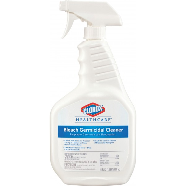DISINFECTANT BLEACH SPRAY 22OZ  RTU EA