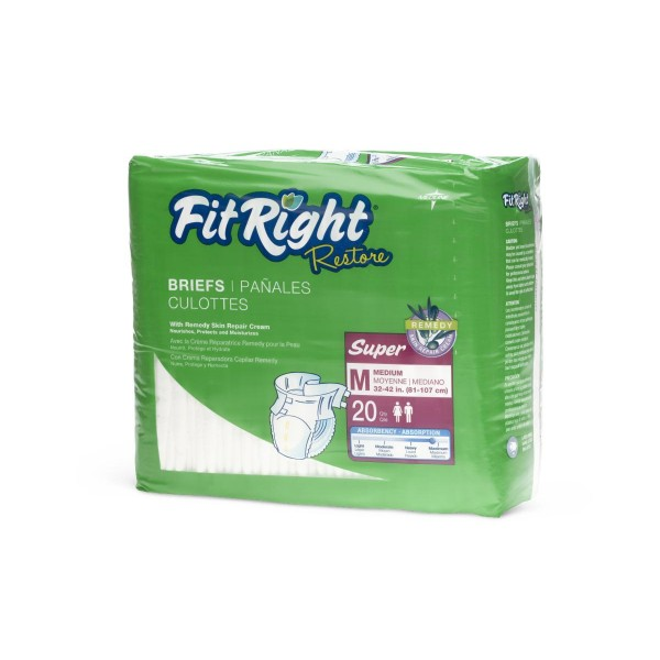 CLOTHLIKE BREIF FITRESTORE MEDIUM Case of 20