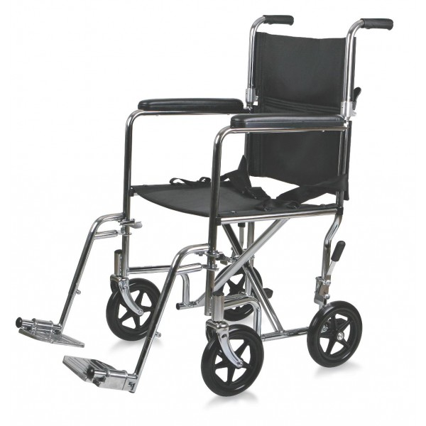 WHEELCHAIR TRANSPORT PERM ARM S/A FOOT