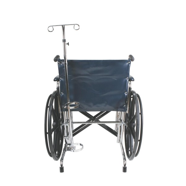 HOLDER OXYGEN TANK IV POLE WHEELCHAIR