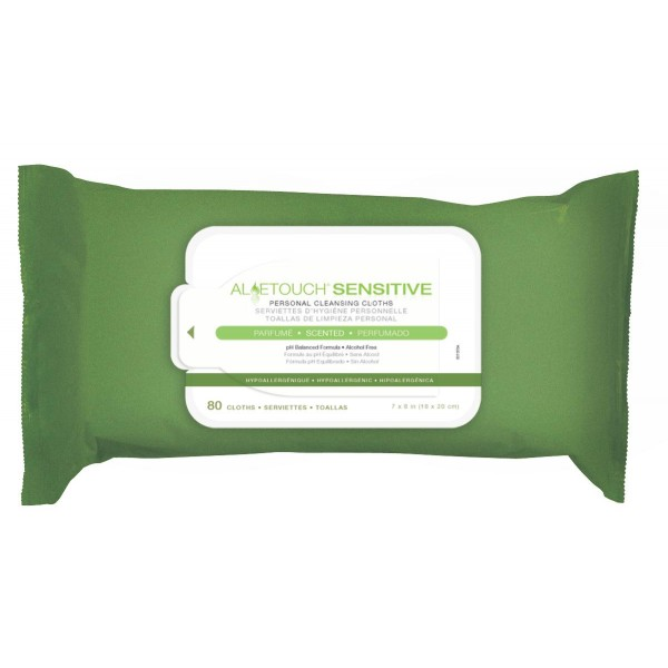 ALOETOUCH SENSITIVE BABY WIPES SCENT