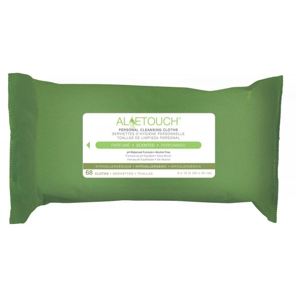 ALOETOUCH WIPES SCENTED 68/PK