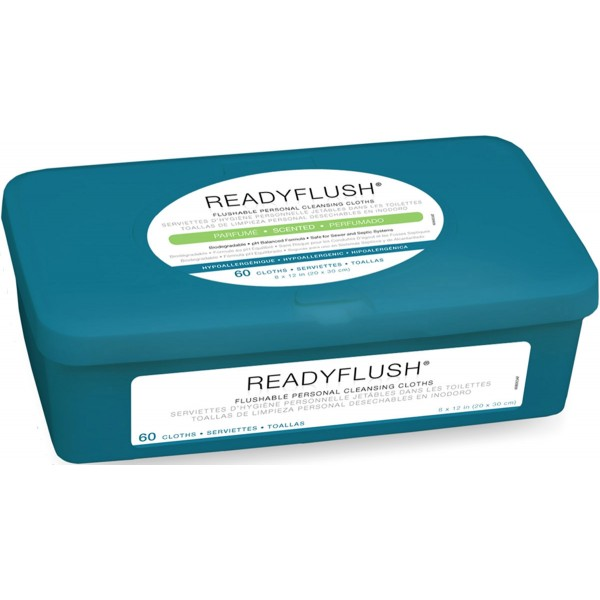 SCENTED READYFLUSH WIPES Case of 9