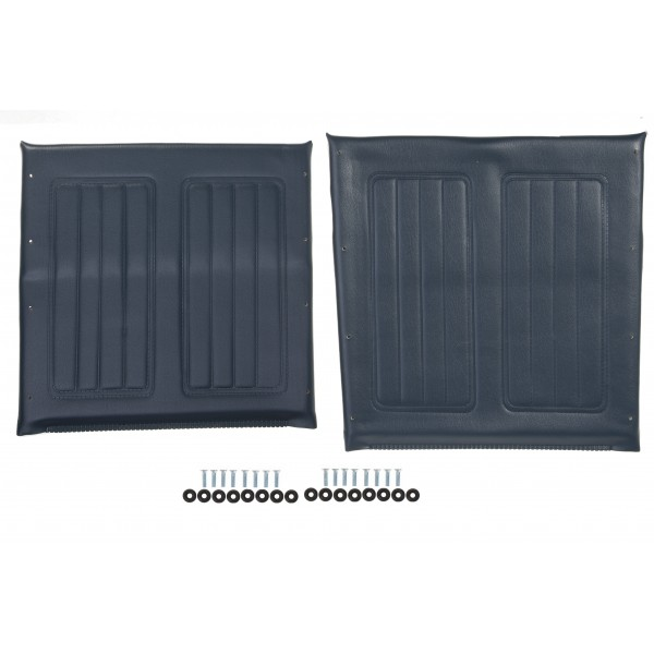 UPHOLSTERY  KIT NVY F/16IN WHEELCHAIR
